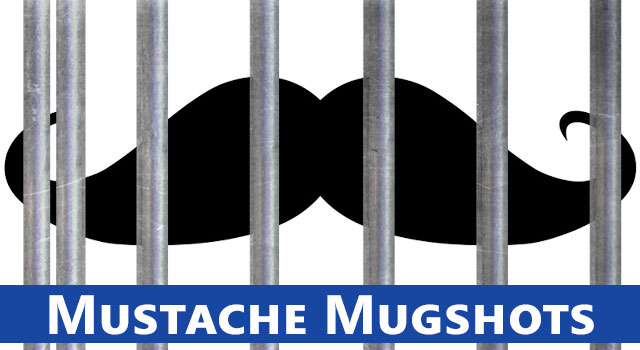 5 Awesome Mustache Mugshots