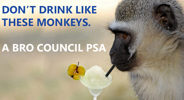 Don't Be Like These Drunk Monkeys