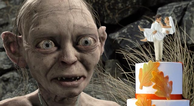 Gollum Wedding Surprise
