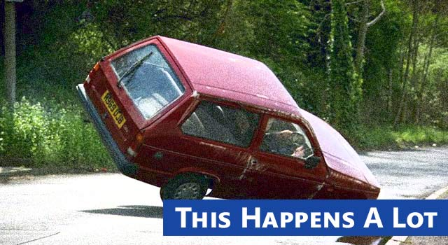 3 Wheel Car >> Top Gear Reliant Robin 3 Wheel Car Crash