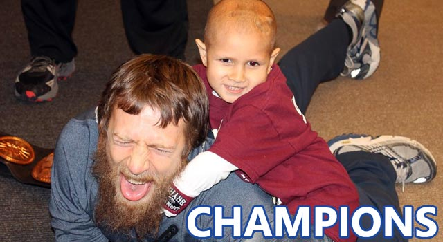 Daniel Bryan Taps Out To Cancer Patient