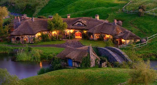 A Replica Hobbit Pub