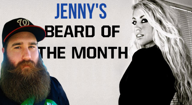 Jenny's Beard Of The Month - December 2012