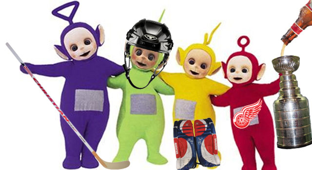 Teletubbies And The Red Wings