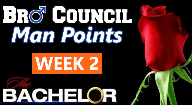Man Points: The Bachelor Week Two