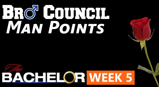 Man Points: The Bachelor Week Five