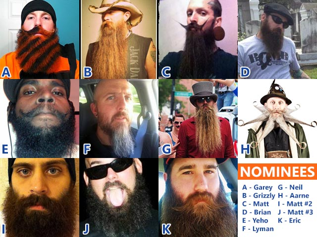 Bro Council Beard of the Year Vote