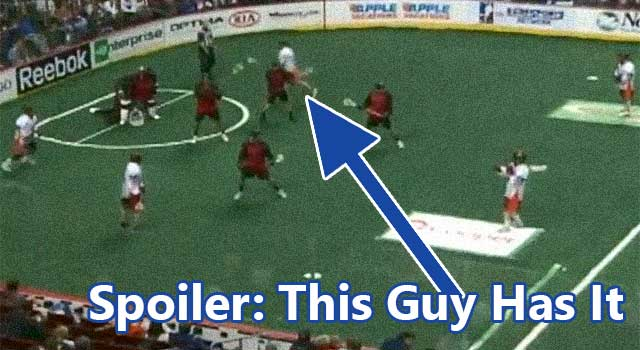 The Old Hidden Ball Trick In Lacrosse