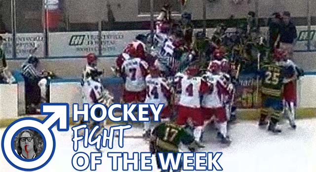 It's A Hockey Brawl In Huntsville