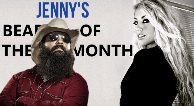 Jenny's Beard Of The Month - January 2013