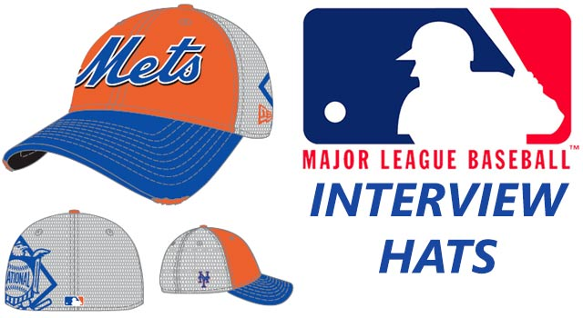 MLB Introduces Interview Hats