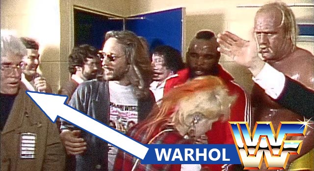 Andy Warhol Was In WWE