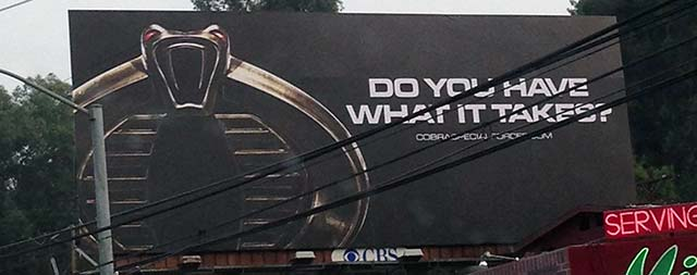 COBRA Billboard