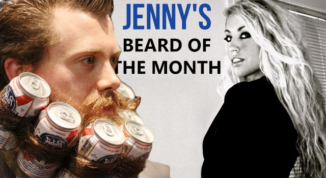 Jenny's Beard Of The Month - February 2013