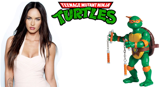 Megan Fox To Star In New TMNT Movie