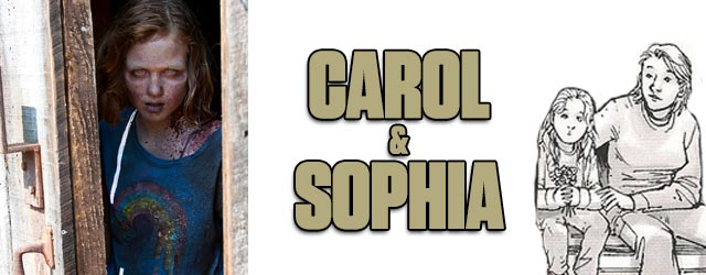 Carol and Sophia - Walking Dead TV vs. Graphic Novel