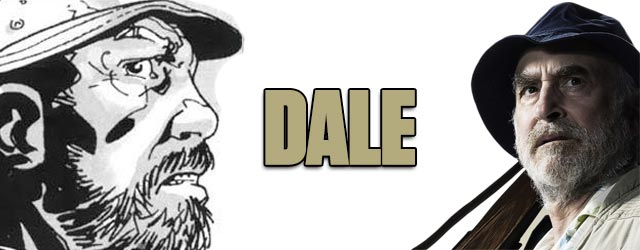 Dale - Walking Dead TV vs. Graphic Novel