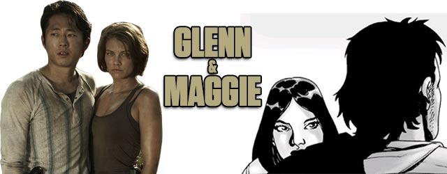 Glenn and Maggie - Walking Dead TV vs. Graphic Novel