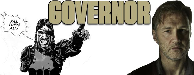 Governor - Walking Dead TV vs. Graphic Novel