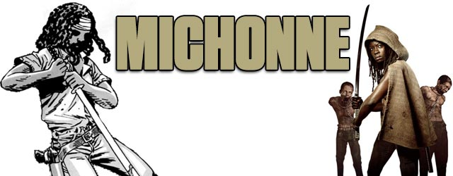 Michonne - Walking Dead TV vs. Graphic Novel