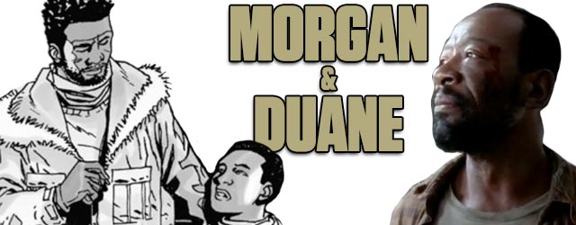 Morgan & Duan - Walking Dead TV vs. Graphic Novel