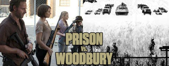 Prison-Woodbury Showdown - Walking Dead TV vs. Graphic Novel