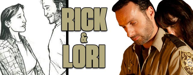Rick and Lori - Walking Dead TV vs. Graphic Novel