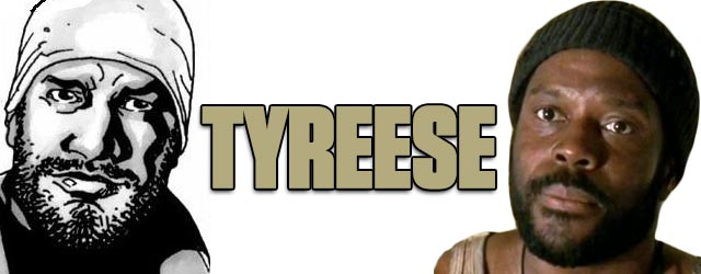 Tyreese - Walking Dead TV vs. Graphic Novel