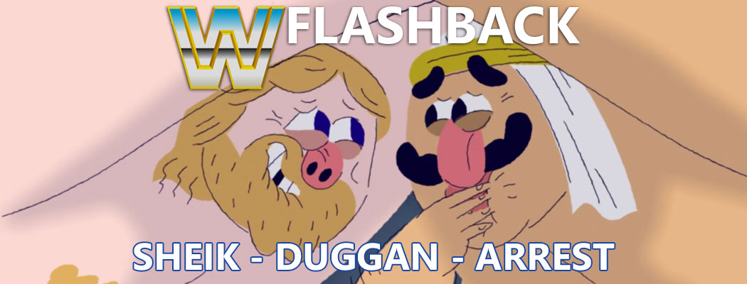 WWE Flashback: Iron Sheik and Hacksaw Jim Duggan's Arrest