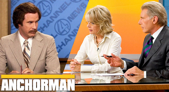 Harrison Ford Is In Anchorman: The Legend Continues