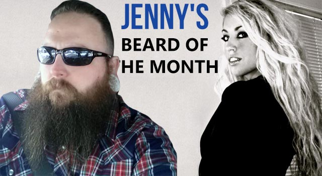 Jenny's Beard Of The Month - March 2013