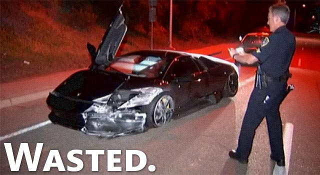 Couple Disappear After Crashing $220K Lamborghini