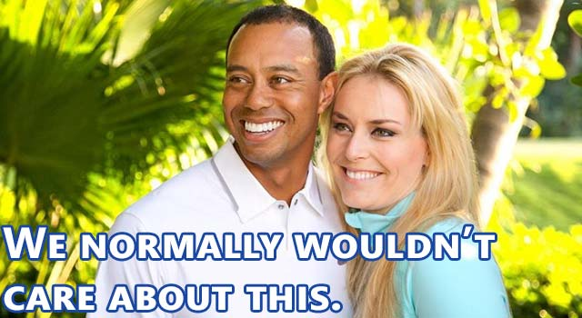 Tiger Woods And Lindsey Vonn: Awkward Beginnings