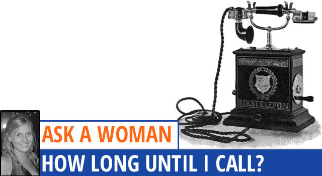Ask A Woman: How Long Should I Wait To Call After A Date?