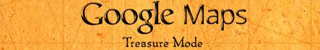 April Fools - Google Treasure Maps
