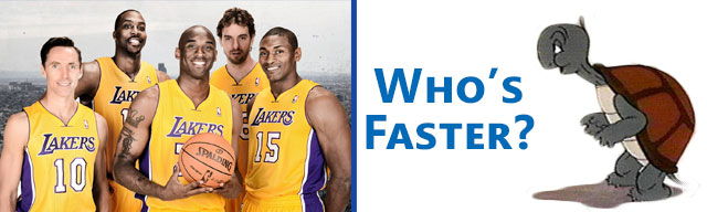 Is the Lakers Defense slow?