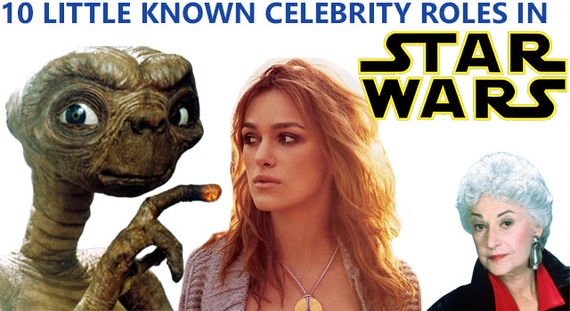 10 Star Wars Celebrities You've Never Noticed