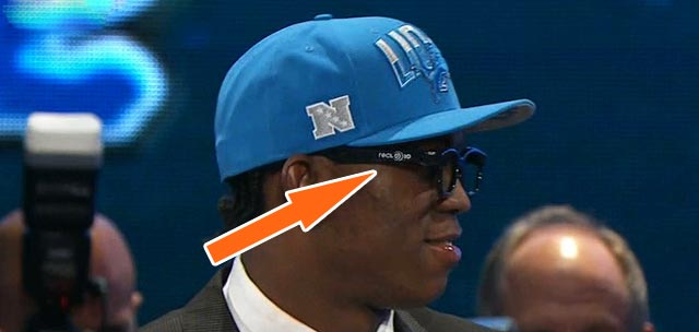 Ziggy Ansah 3D Glasses