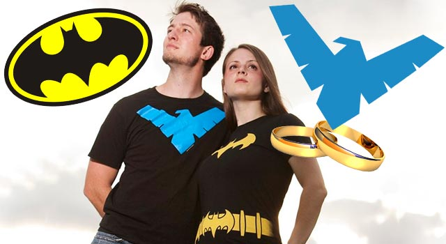 The Batgirl-Nightwing Wedding: Nerds Unite!