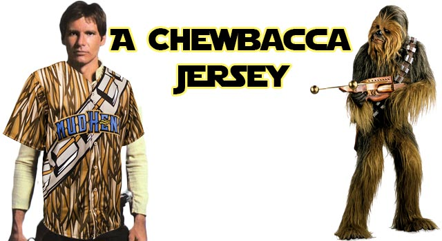 The Chewbacca Baseball Jersey