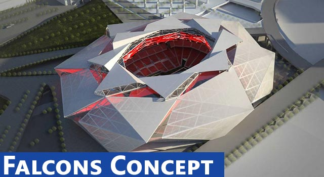 Atlanta Falcons New Stadium Concepts Are Insane