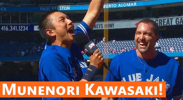 Munenori Kawasaki Stars In The Best Post-Game Interview Ever