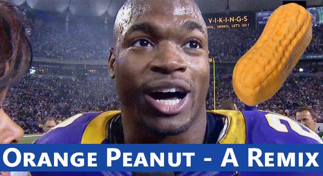 Orange Peanut - An NFL Bad Lip Reading Remix