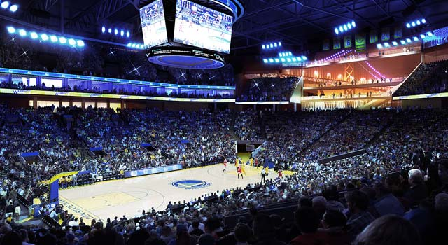 Warriors New Arena - Inside