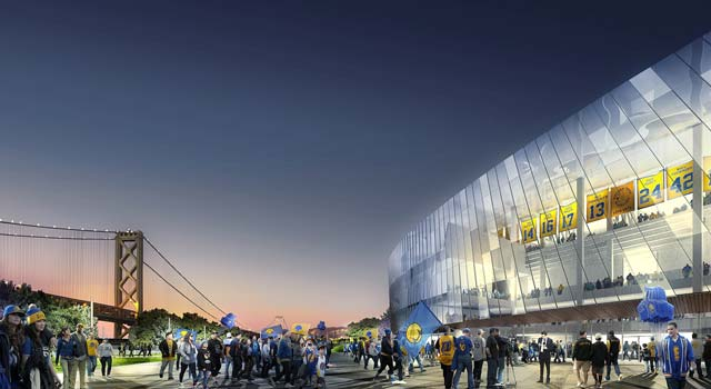 Warriors New Arena - Entrance