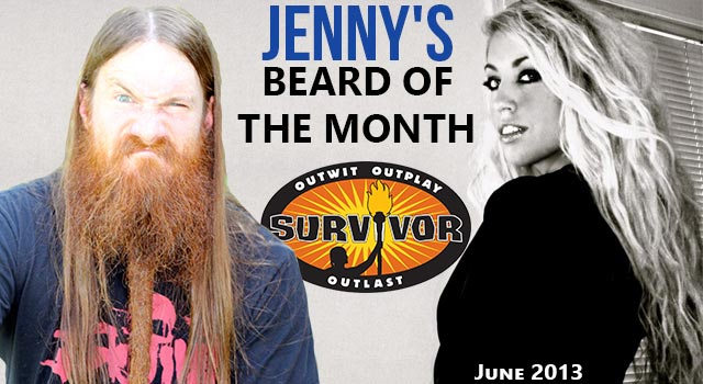 Jenny's Beard Of The Month - Matt Bischoff From Survivor