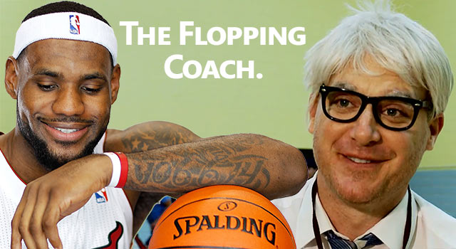 Meet LeBron James' Flopping Coach
