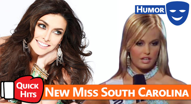 Quick Hits: Miss Utah Crowned New Miss Teen South Carolina