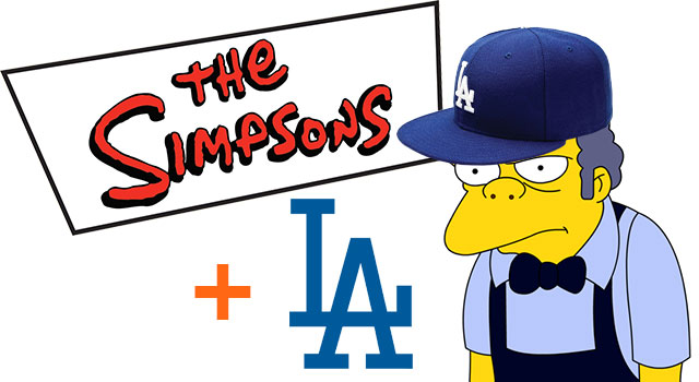 Hank Azaria Announces Dodgers Lineup As Simpson Characters