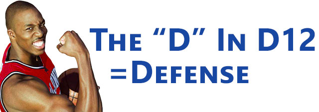 The D In D12 = Defense